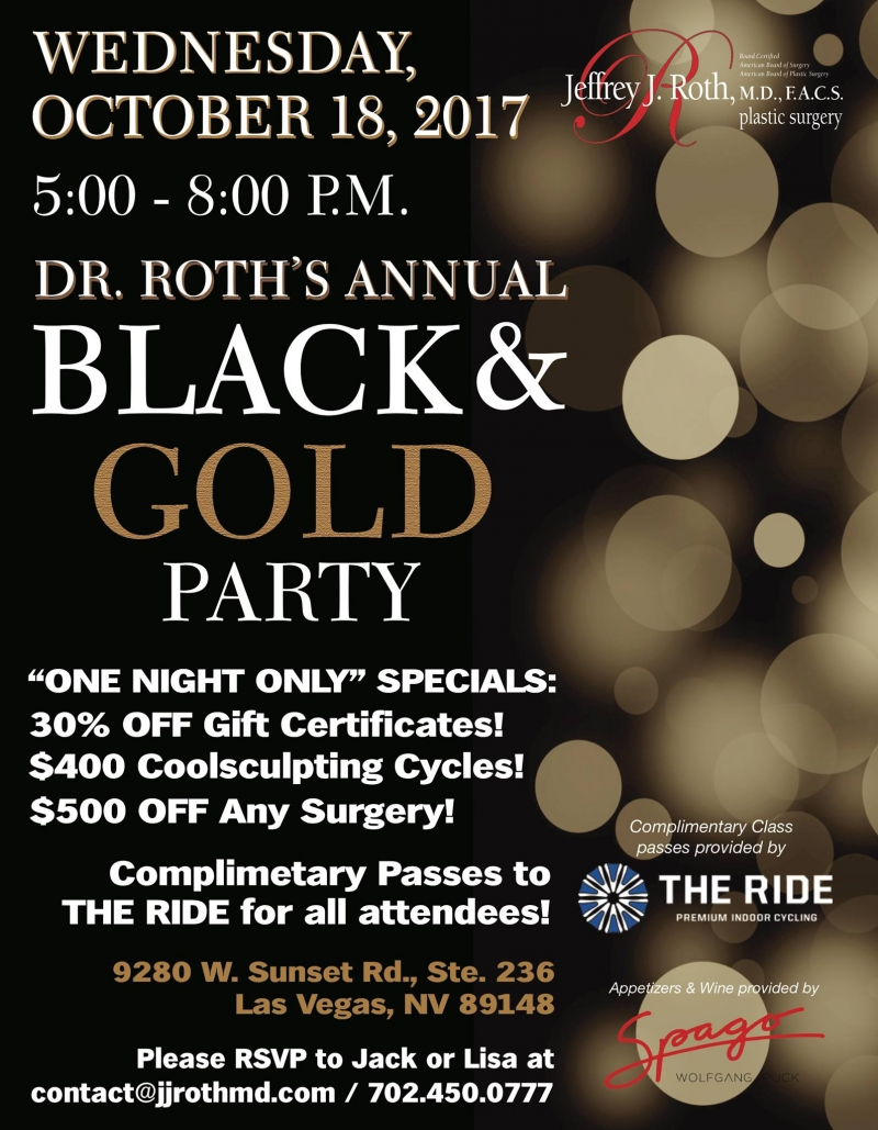 Annual Black and Gold Party