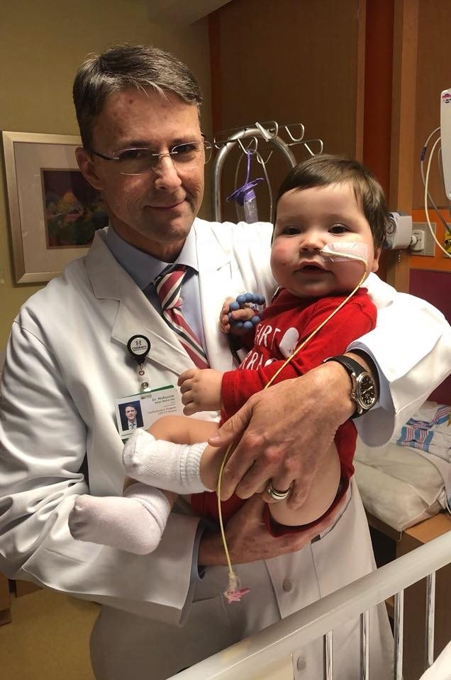 Heart Surgeon Walks Through Snow for Patients