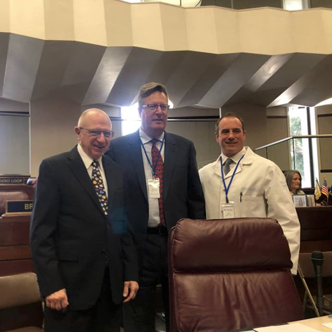 Doctor's Day At Nevada State Legislature